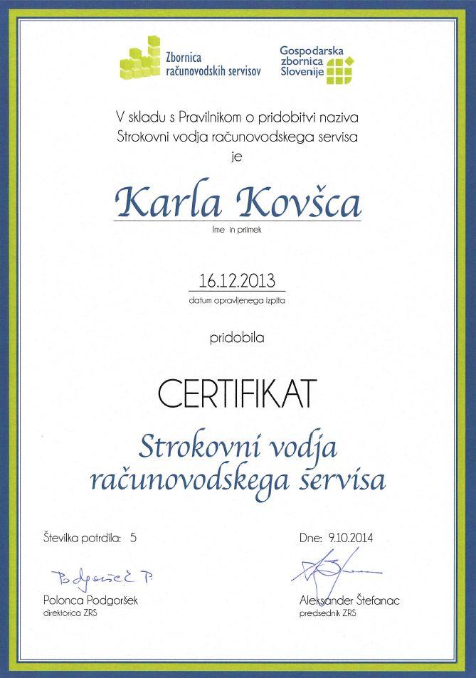 KARLA_certifikat_vodja_RS