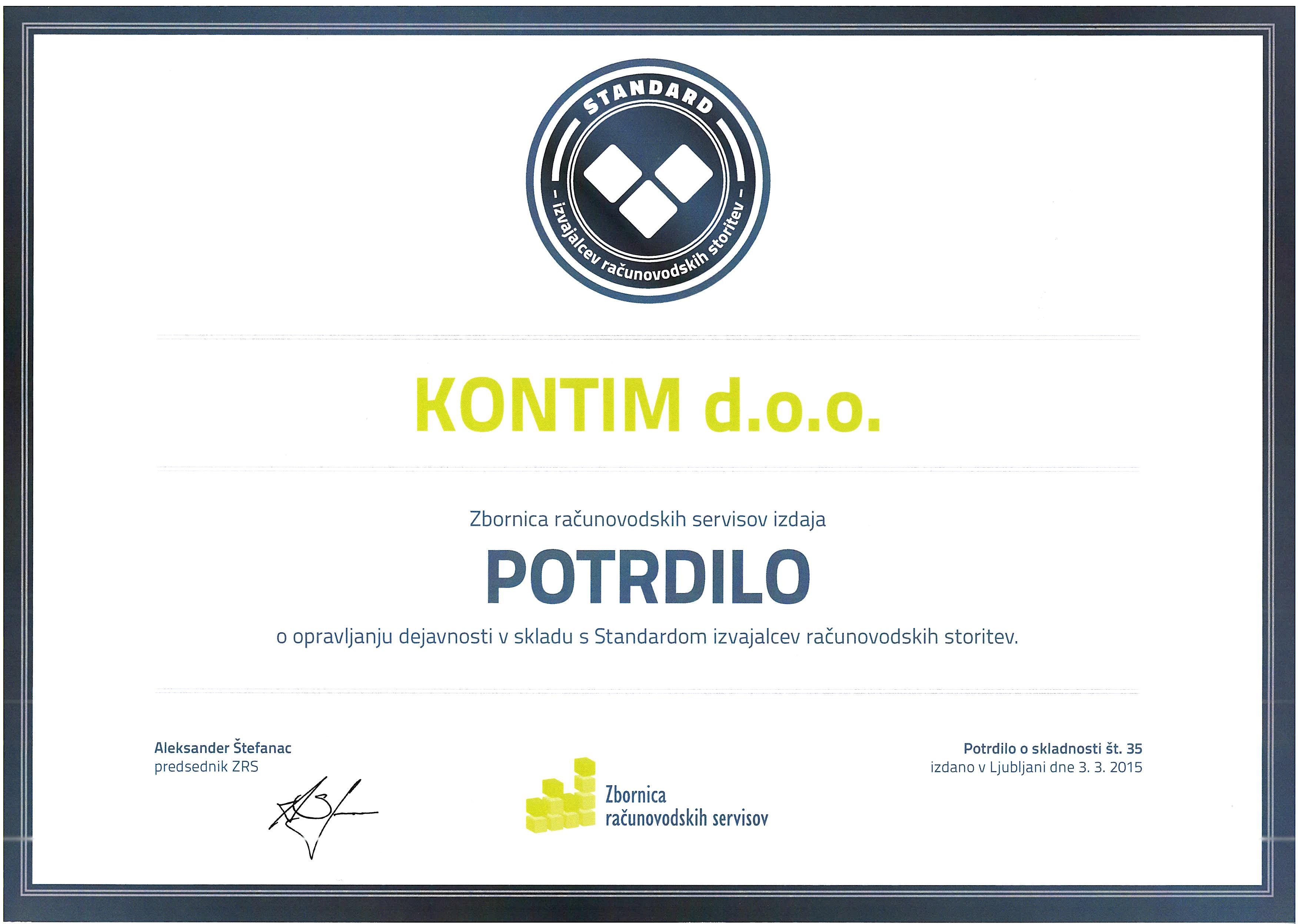 KONTIM_potrdilo_GZS_standard