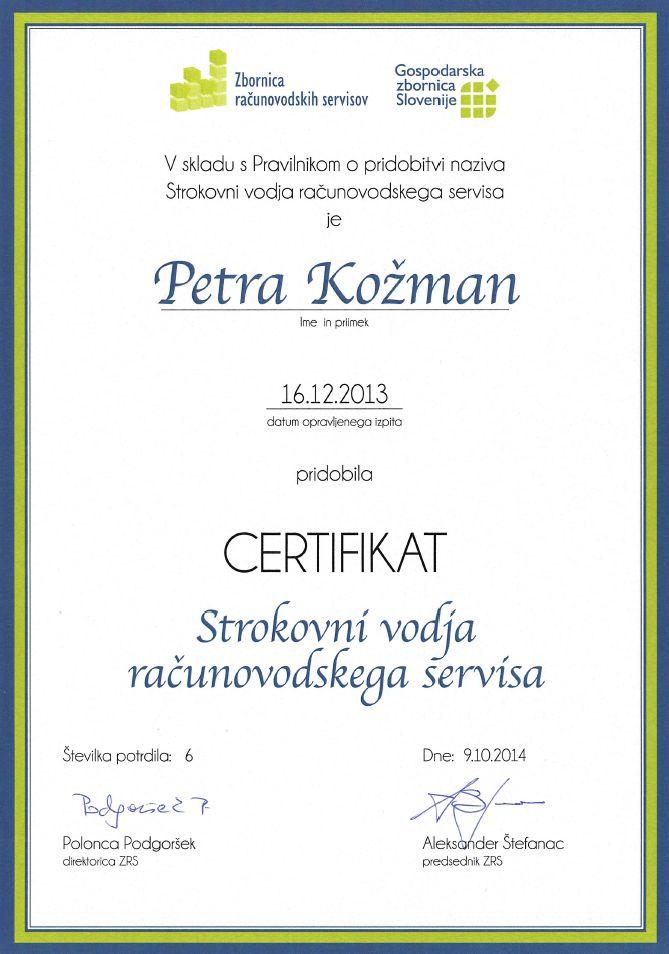 PETRA_certifikat_vodja_RS